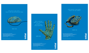 Handwashing posters for the workplace by Initial Hygiene